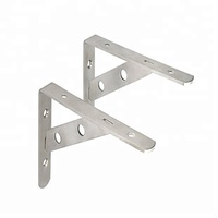 Factory Customized Heavy Duty Shelf Bracket/Aluminum Shelf Wall Bracket