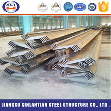 High strength galvanized steel z type bar durable water-resisting steel sheet pile