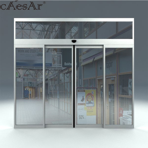 ES200 Caesar low price sliding automatic door for hotel hospital restaurant