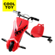 DP106 Cooltoy 2017 New Electric Kids Drifting Go Kart With Three Wheels