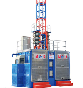 Reliable Quality SC200 Motoer lifting 2ton Building Construction Materials Hoist List Elevator