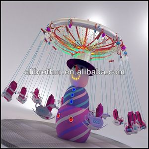 [Ali Brothers]kids amusement rides indoor mini flying chair