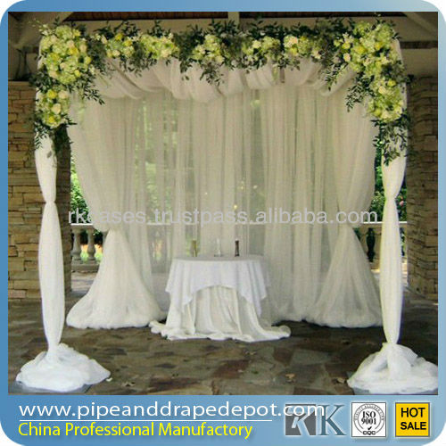 Sheer Draping Fabric For Wedding Event Party Decoration - Buy ...