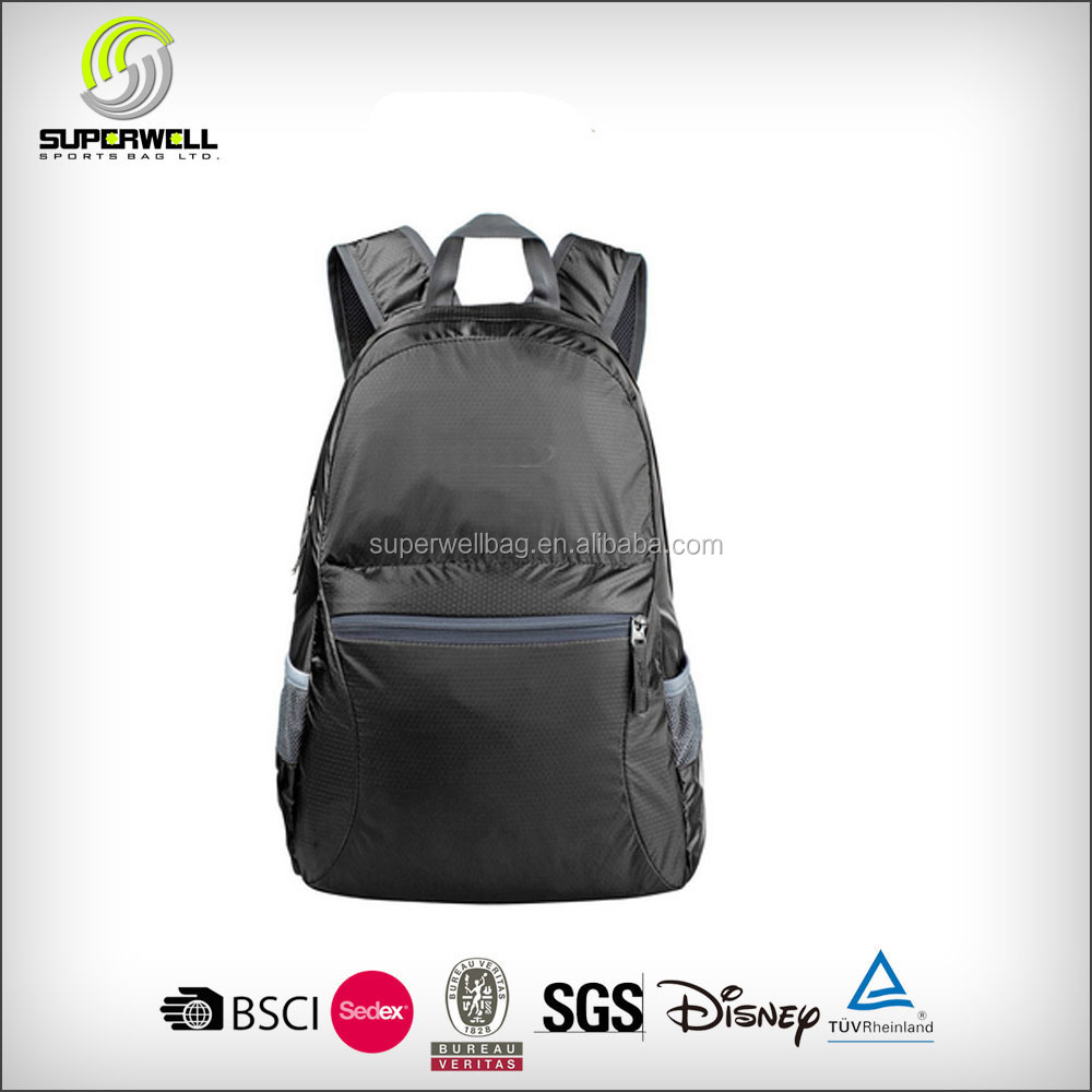 Light weight waterproof foldable backpack