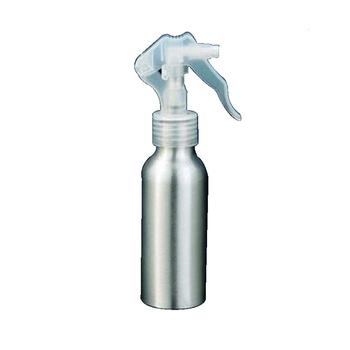 17f3d80cd Cor personalizada prata frasco de spray de 30 ML de alumínio com bomba de  loção