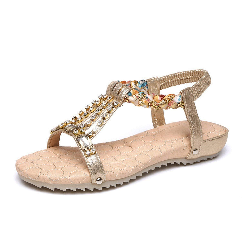 6de58fa4ae2a4 Cool Cj Woman Sandals Shoes Rhinestones Crystal Gladiator Flat Sandals  Brand Sandals Women Summer Shoes Beach