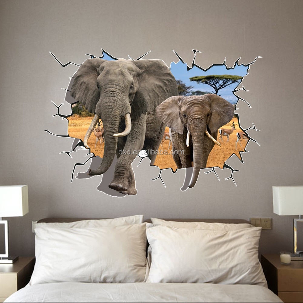 Modern D Wall Effect Wall Sticker For Retail Selling Buy High - 3d effect wall decals
