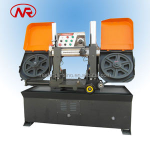 hydraulic angle channel cutting saw machine/ cutting metal band saw /Manual material feed saw