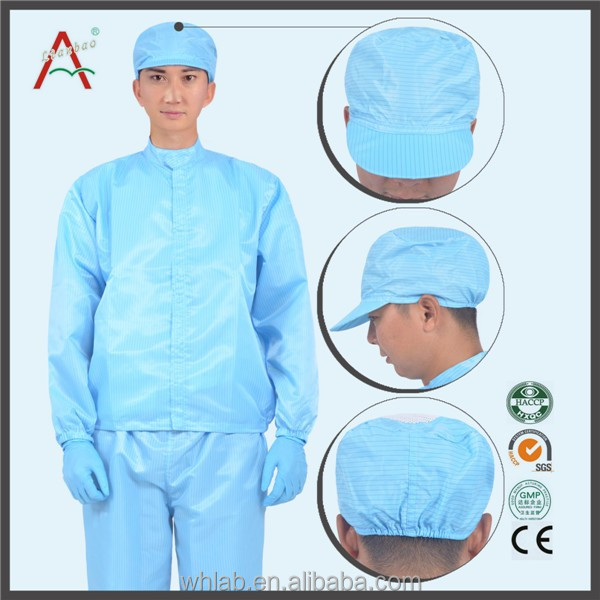 polyester clean room ESD anti-static overol