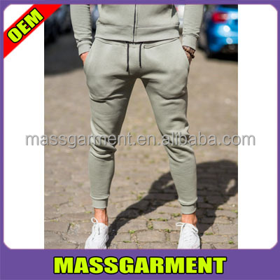 Cotton/ Elastane Stretch Fabric Jogger Suit Athletic Sports Pant