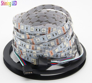 High Quality, DC12V/DC24V, Waterproof/Non-waterproof Available, Flexible 5050 RGBW/RGB LED Strip