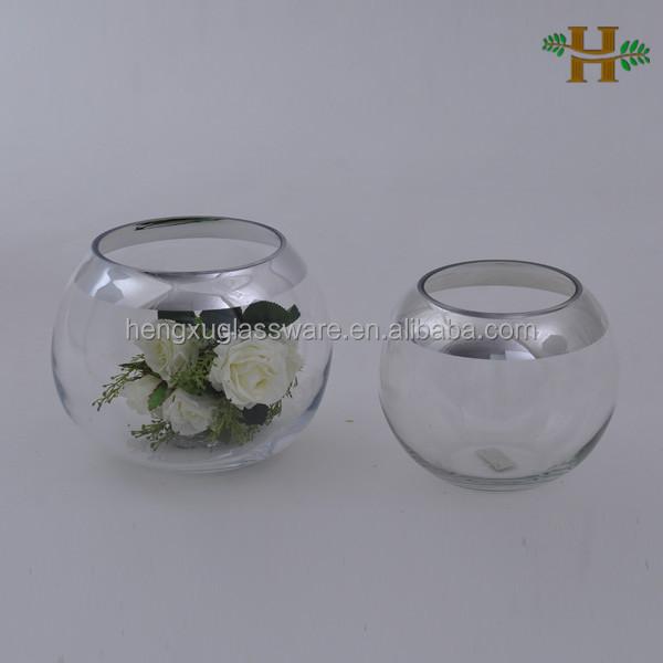 Floreros De Cristal Para Boda Tendencias De Decoracin Mason Jars O