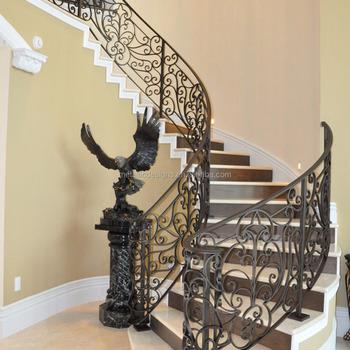 Metal Decking Design Iron Stairway Railings Iron Stair Railings