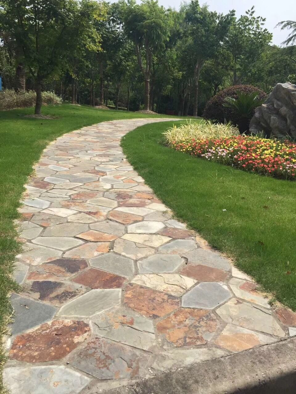 Outdoor Garden Stone Pavers Flagstone Buy Outdoor Stone Pavers