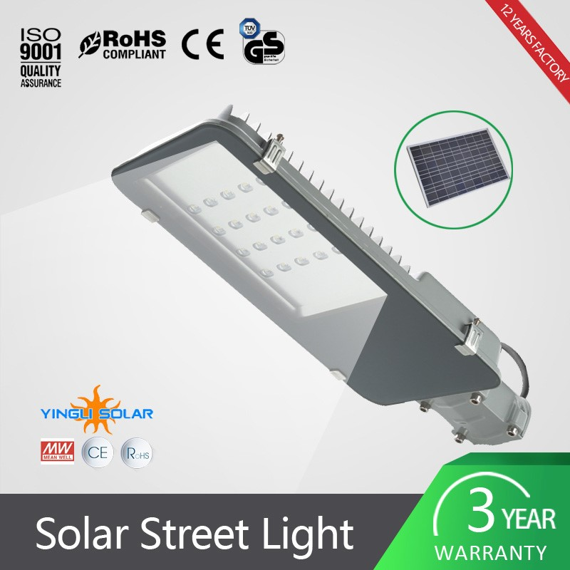 New invention waterproof IP67 60w outdoor solarled street light road lamp for wholesales