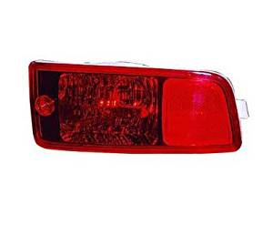 PASSENGER SIDE REAR REFLECTOR Fits Hyundai Santa Fe RH; IN BUMPER COVER