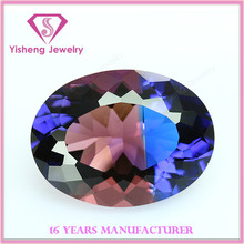 Various Oval Cut Colorful Crystal or Rhinestone Glass Stone
