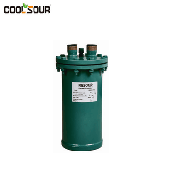 refrigeration oil separator for condensing unit