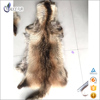 High Grade China Supplier Dyed color real raw raccoon fur skin Animal hide and skin for sale with low price