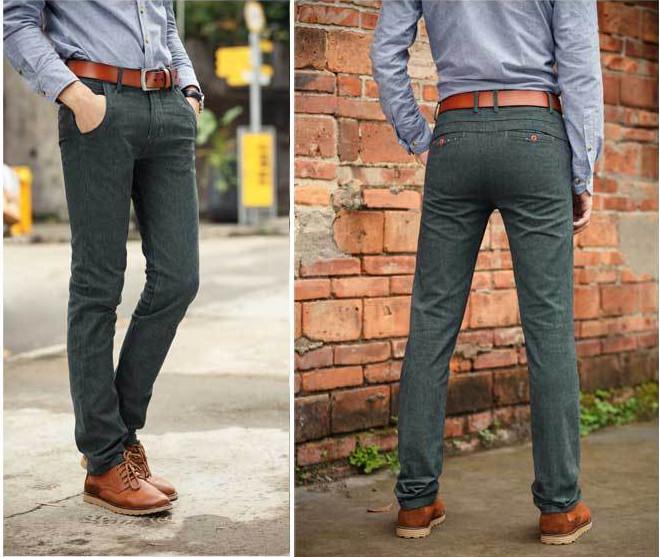 Green Casual Pants Pant So