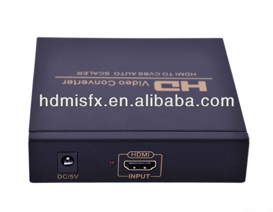 high quality Hdmi to rca converter box Hdmi To Av Converter