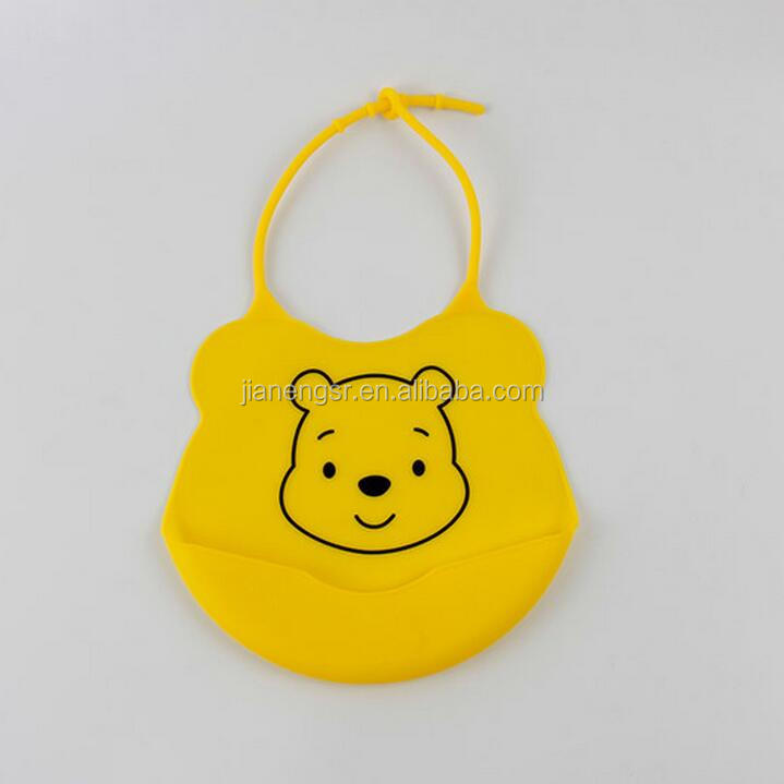 2017 China manufacturer new arrival funny silicone baby bib waterproof