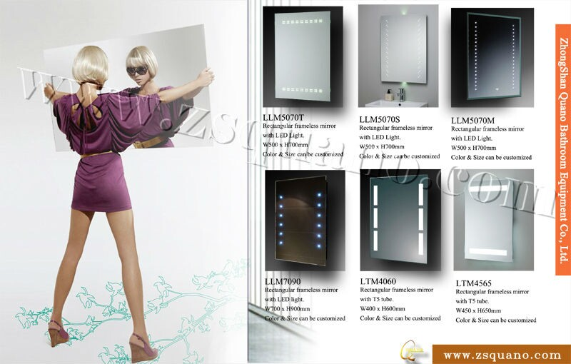 Smart Mp3 Bathroom Mirror With Led Light And Bluetooth