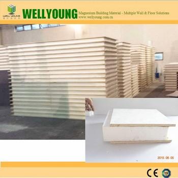Light Weight Mgo Sandwich Wall Panel Sip To Uk Usa Canada