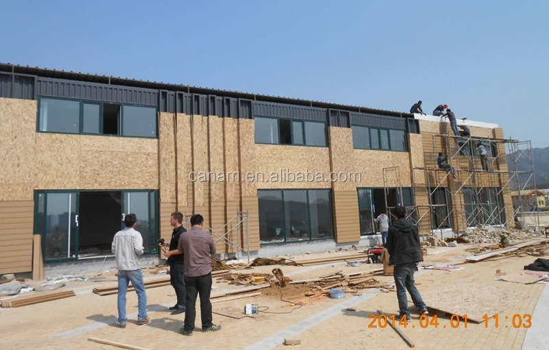 Prefabricated modular container dormitory house