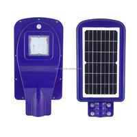Outdoor IP67 waterproof bridgelux 10w 20W 40W led solar street lamp