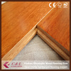 Guangzhou manufactory natural color kempas parquet flooring