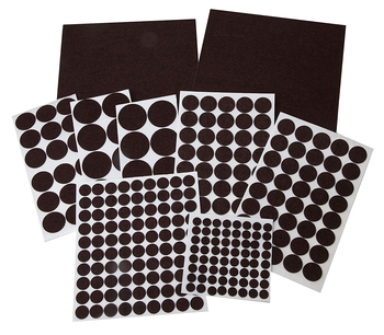 Factory low price self adhesive felt pads