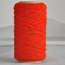 open end recycled or regenerated dyed 100 or 100% acrylic yarn for carpets or rug