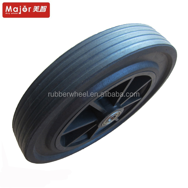 5 inch plastic rim pvc tire and wheel for baby stroller/baby walker