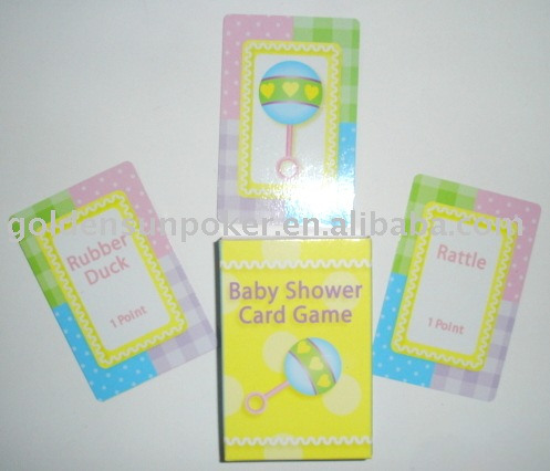 Baby Shower Card Game