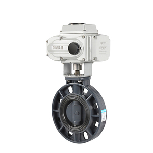 OEM/ODM 2 Inch To 8 Inch Electric Motorized Control UPVC Butterfly Valve