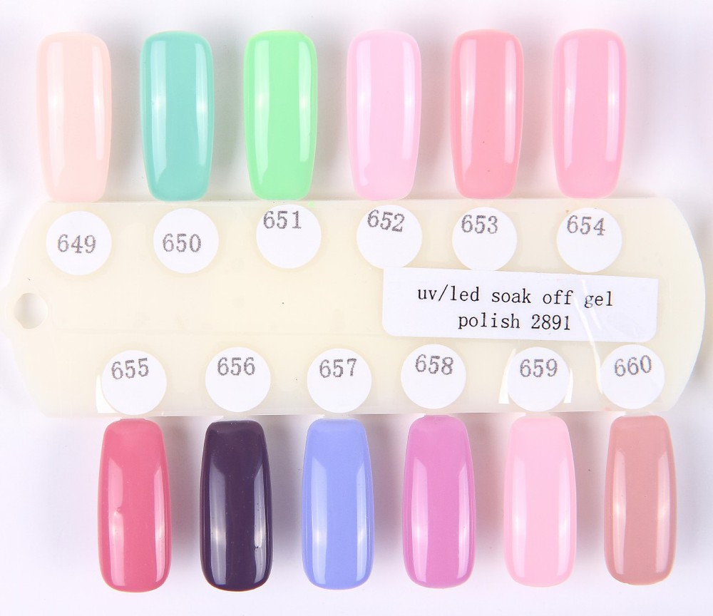 Gel Nail Polish From An