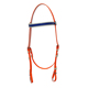 Colorful tension waterproof synthetic pvc horse racing bridle