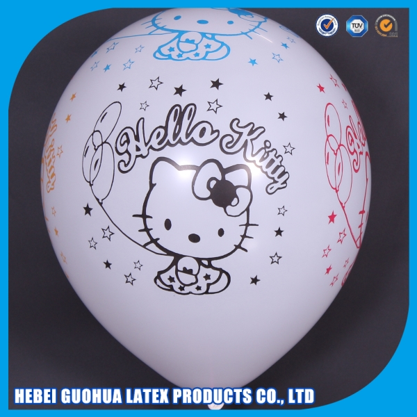 Party supplies decorative party eco-friendly cartoon character balloons