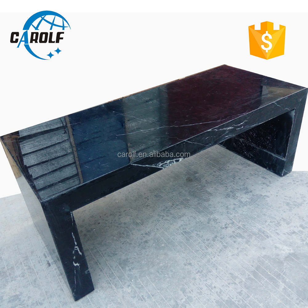 carolf blck marble tv unit design for hall
