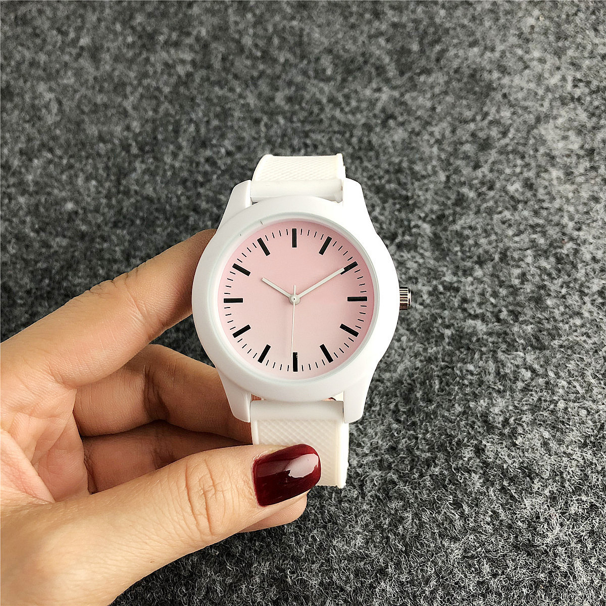 Relogio  watches  colorful silicone clock  fancy reloj  sport women girl child wristwatch rubber
