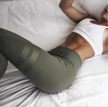 Army Green Sporting Leggings Clothing For Women Fitness Quick Dry Pants High Waist Fitness Workout Leggings