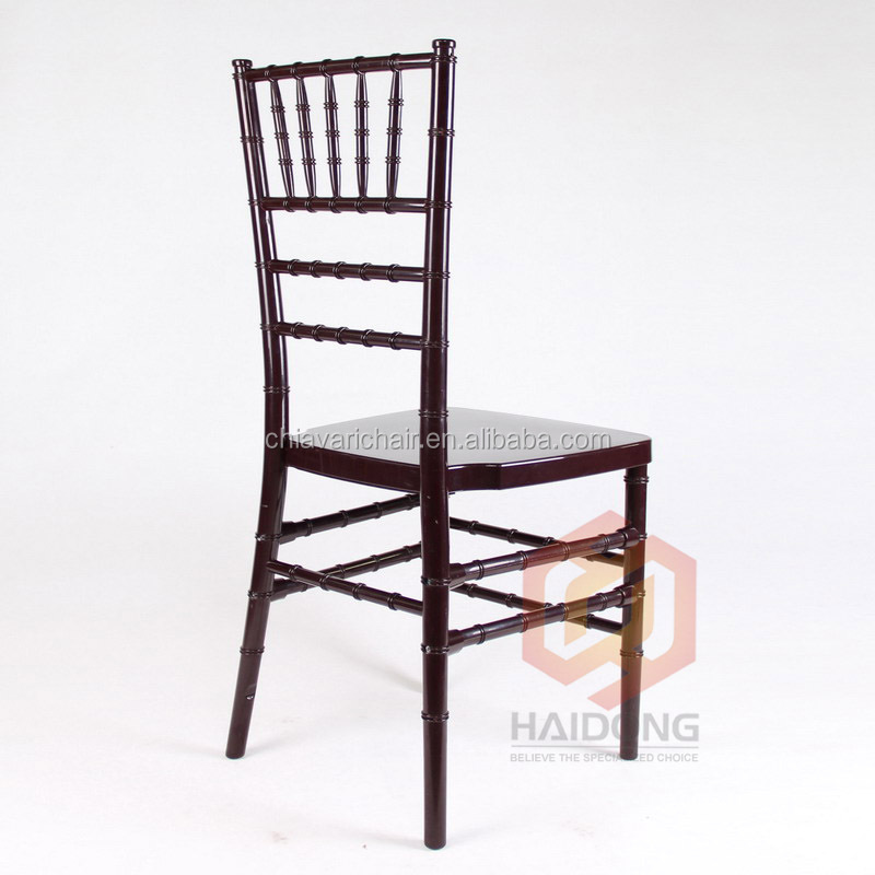 White Color PP Resin with Metal Frame Wedding Event Chair Made in China