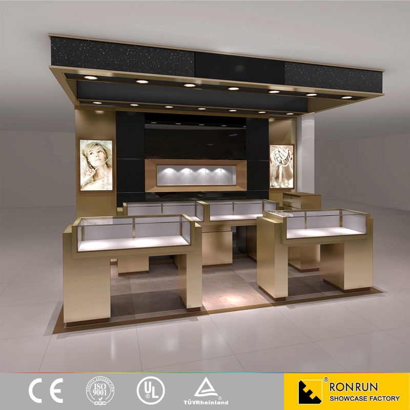 Luxe moderne sieraden kiosk ontwerp met led licht voor winkelcentrum buy product on - Moderne woning buiten lay outs ...