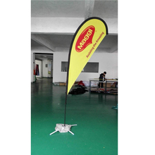 New design Marketing advertising feather flag Blade Wind Flag Banner with CE certificate