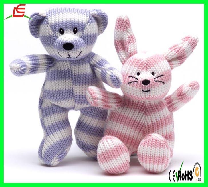 Le c1554 tricot ours et jouet pour chat coton biologique - Animaux en tricot facile ...