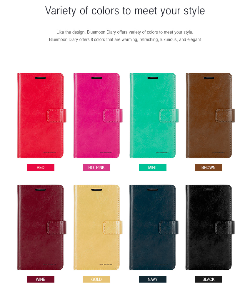 Goospery Case Suppliers And Manufacturers At Iphone 6 6s Fancy Diary Brown Black