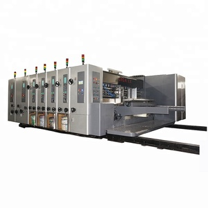 shanghai china ce corrugated carton production line machinery for small box flexo printing machine