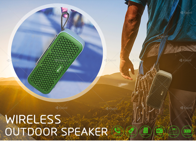 Wholesale Colorful Portable Home Speakers Blue Tooth Wireless Speaker
