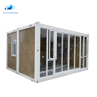 modern sea flat pack house bar container show room